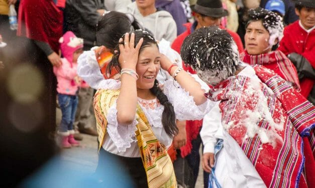 Celebrating Carnival in Ecuador