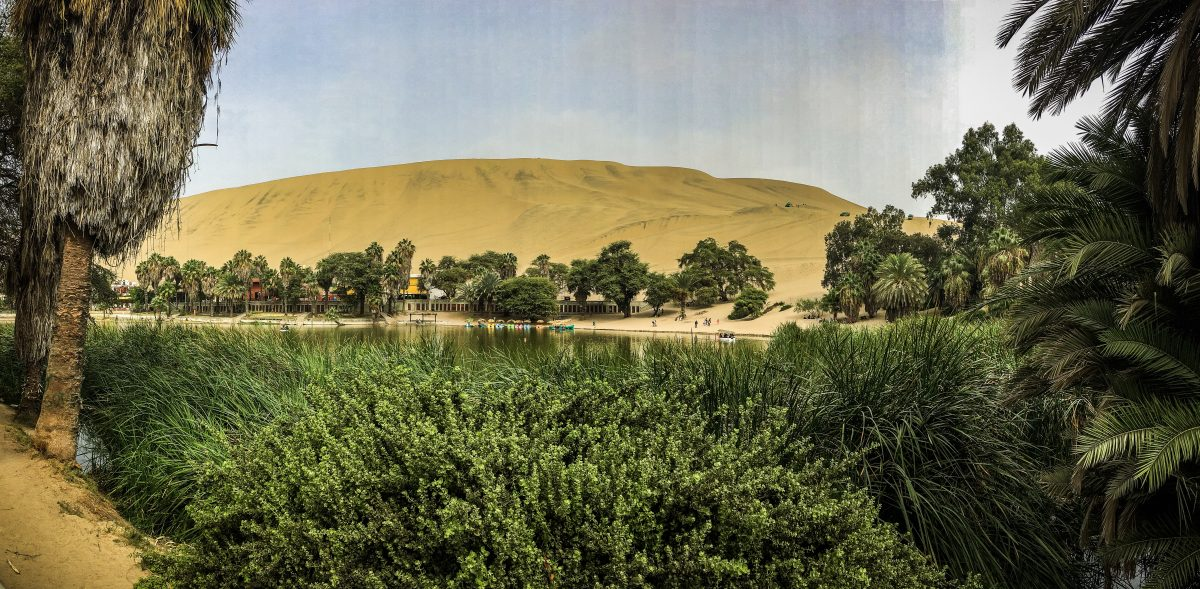 Huacachina is a desert oasis in Southern Peru | ©Laura Frasse / Passports & PCS's