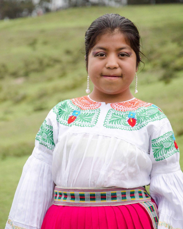 A Young Dancer at Andean New Year Celebration, Cochasquí, Ecuador   ©Angela Drake