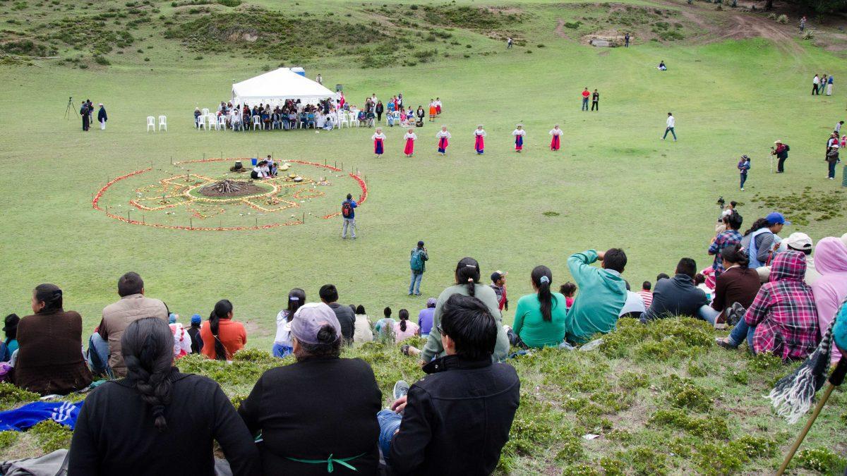 Mushak Nina Celebration, Cochasqui, Ecuador   ©Angela Drake