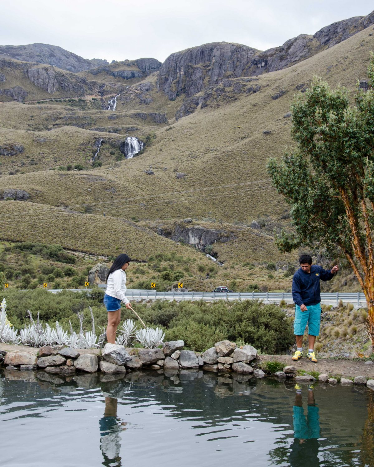 Fishing Pond, Cajas National Park, Ecuador | © Angela Drake