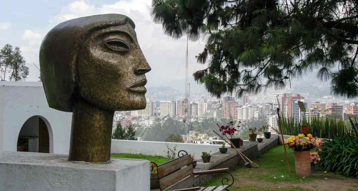 The Guayasamin Museum in Quito, Ecuador