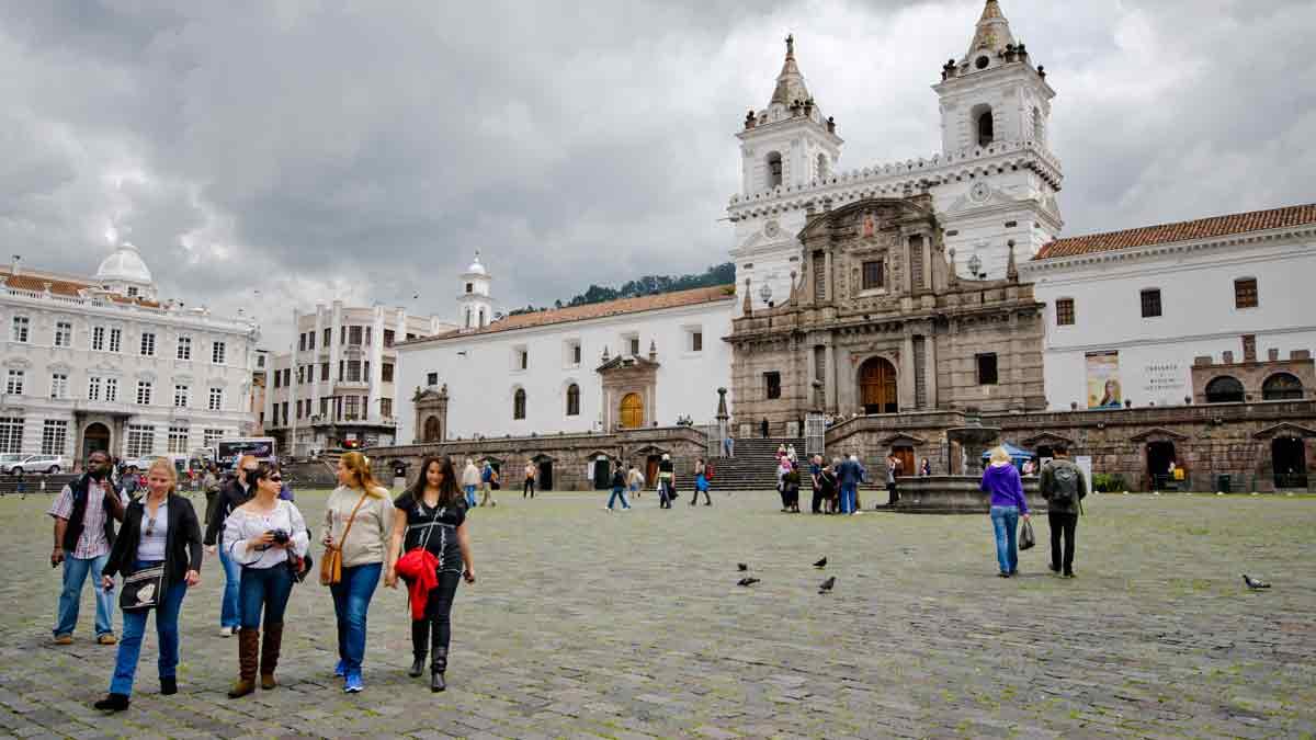 Hiring a local guide takes the pressure off getting around a big city like Quito, Ecuador | ©Angela Drake