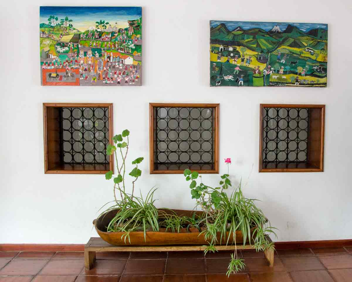 Tigua Folk Art in the Guayasamin Collection | @Angela Drake