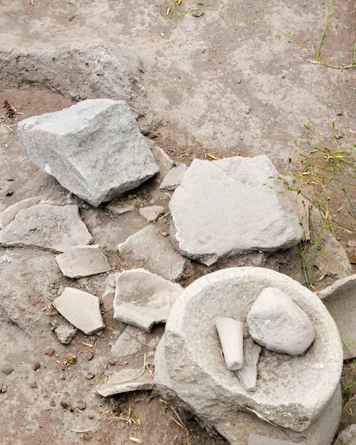 Ancient Stone Tools, Rumipamba, Quito, Ecuador | ©Angela Drake