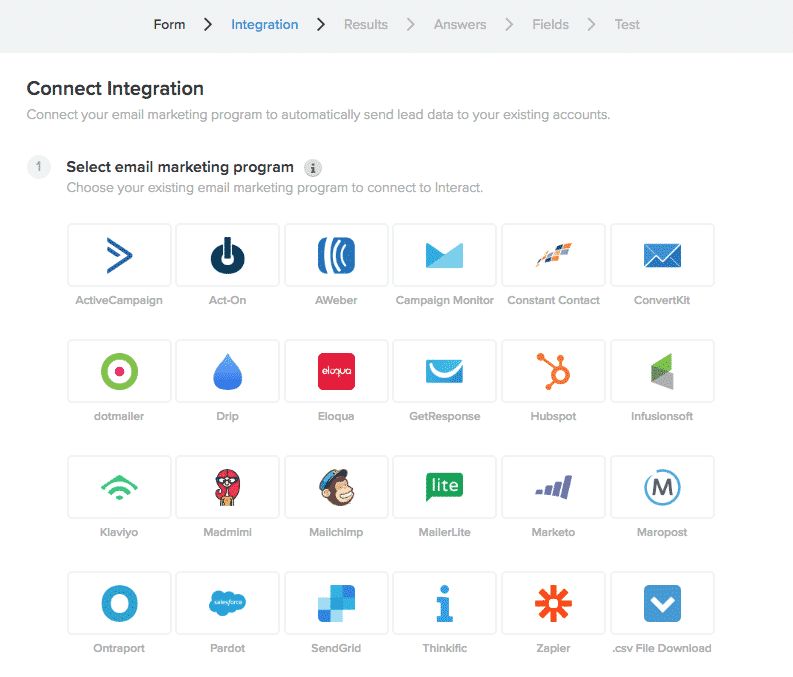 Interact Integrations