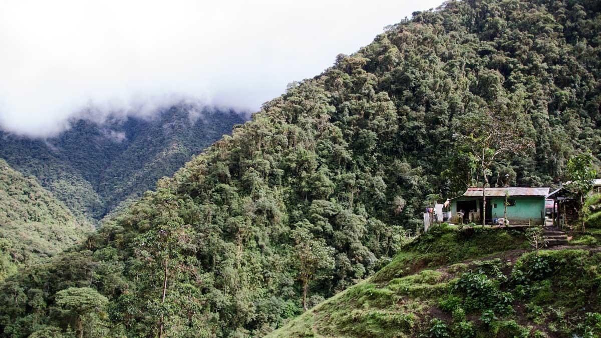 A farm house along the Ruta del Colobrí, Ecuador | ©Angela Drake