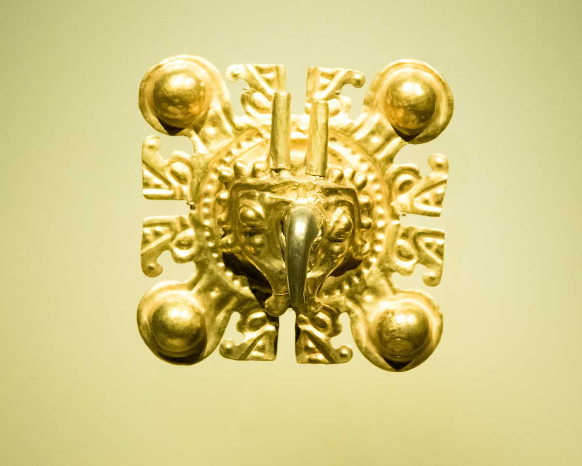 Gold Eagle Image | Gold Museum Bogota | ©Angela Drake