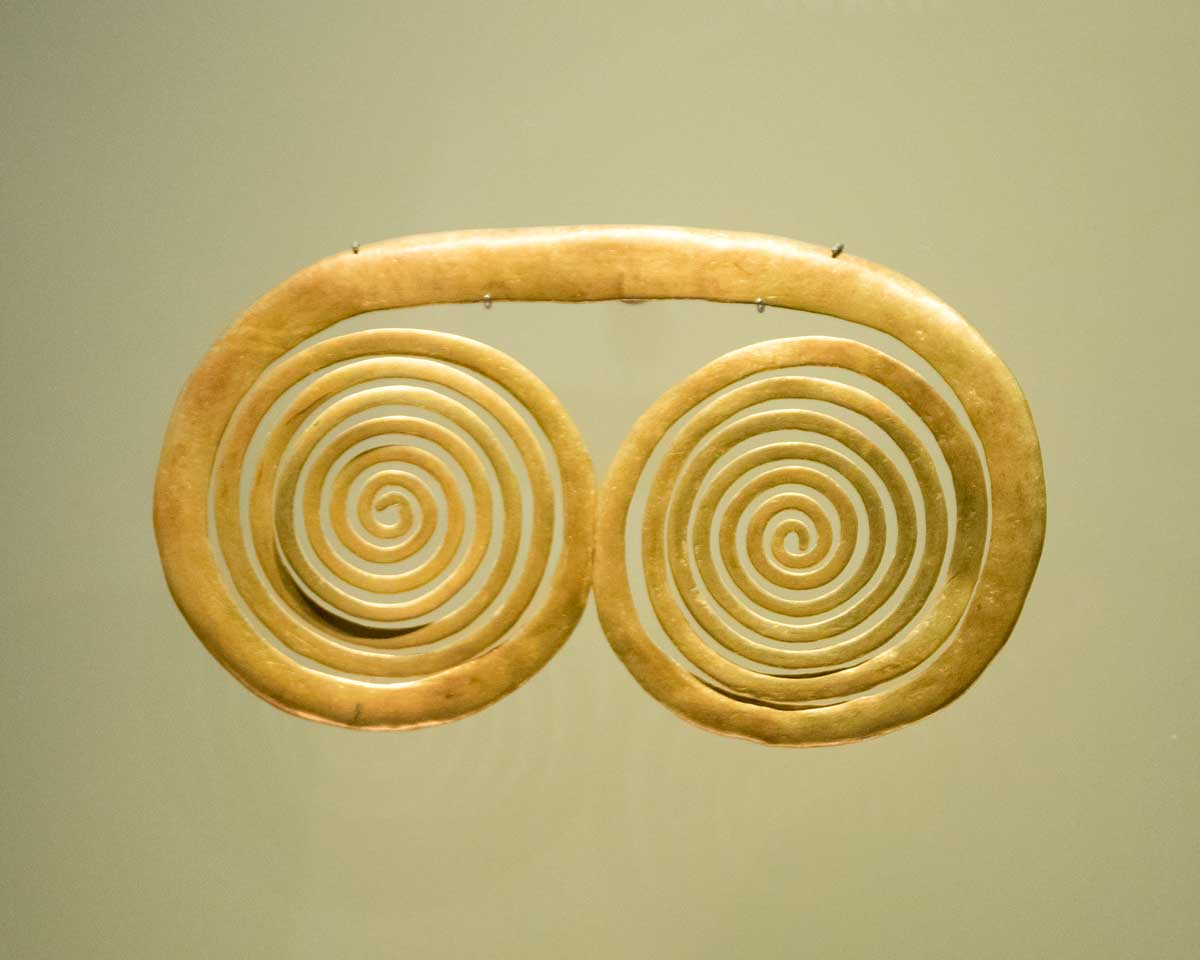 Spiral Adornment | Gold Museum Bogota | ©Angela Drake