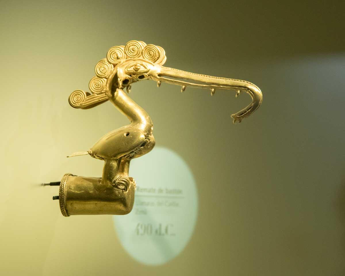 Frigate Bird, 490 CE | Gold Museum Bogota | ©Angela Drake