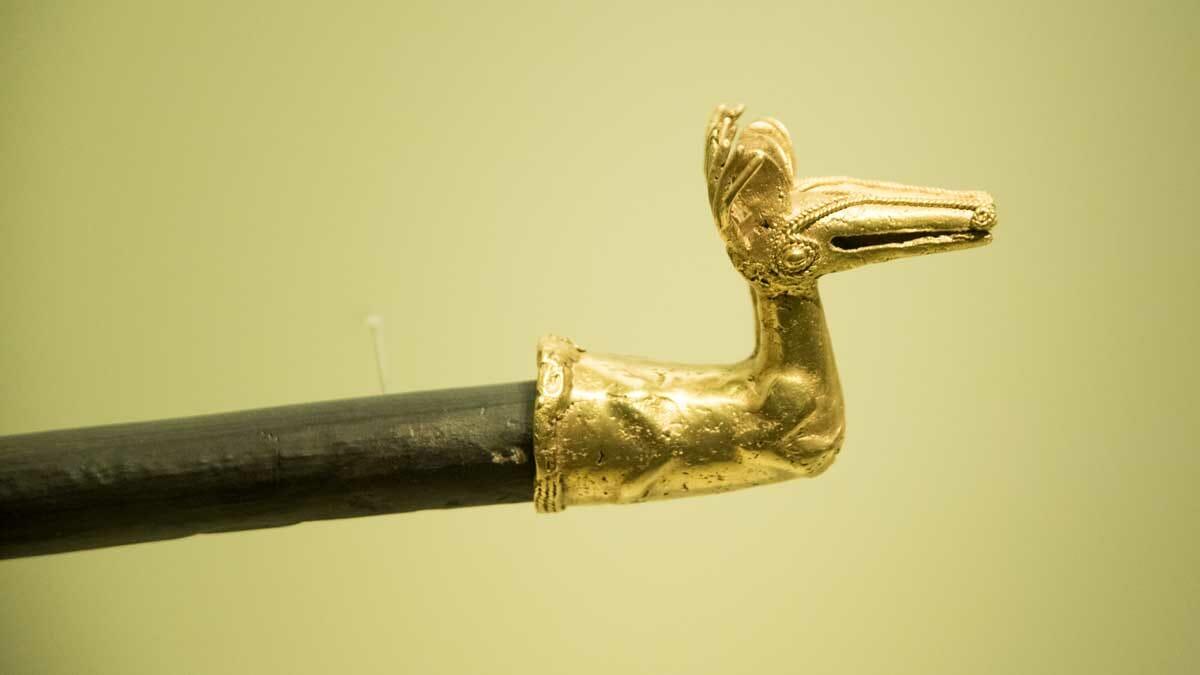 Deer with Horns | Gold Museum Bogota | ©Angela Drake