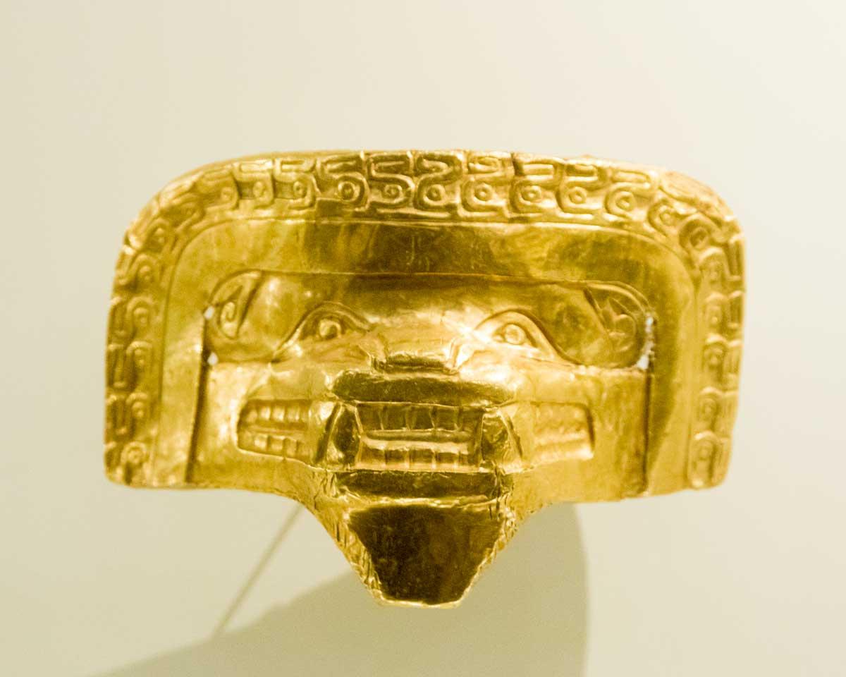 Puma Mask | Gold Museum Bogota | ©Angela Drake