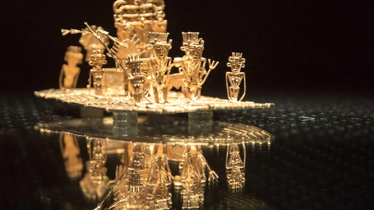 Detail of The Offering | Gold Museum Bogota | ©Angela Drake