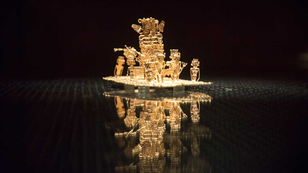 The Offering | Gold Museum Bogota | ©Angela Drake