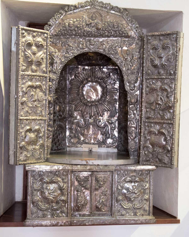 Silver Reliquary, Museo Arquidiocesano de Arte Religioso | ©Angela Drake