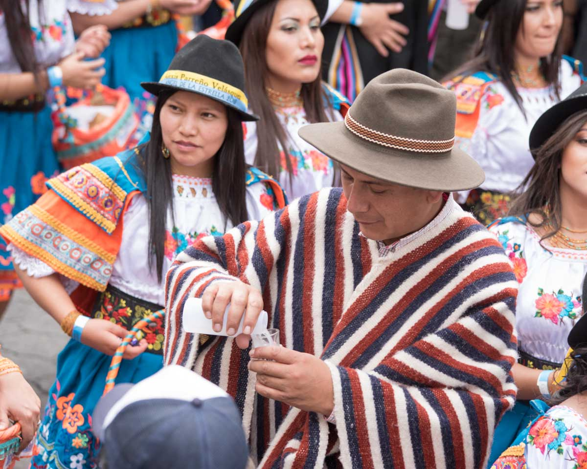 Un Loero, Mama Negra, Latacunga, Ecuador | ©Angela Drake