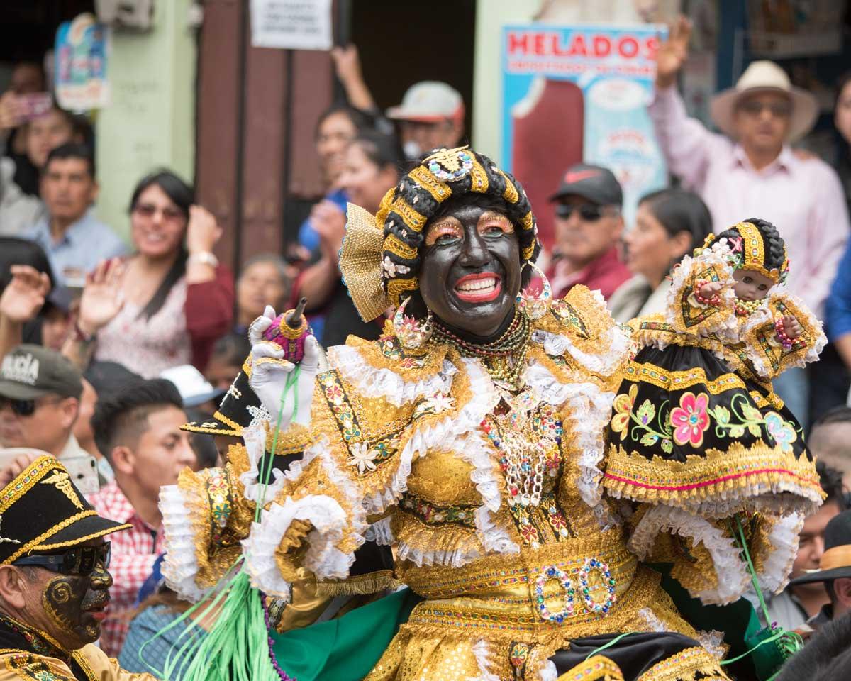 La Mama Negra, Latacunga, Ecuador | ©Angela Drake