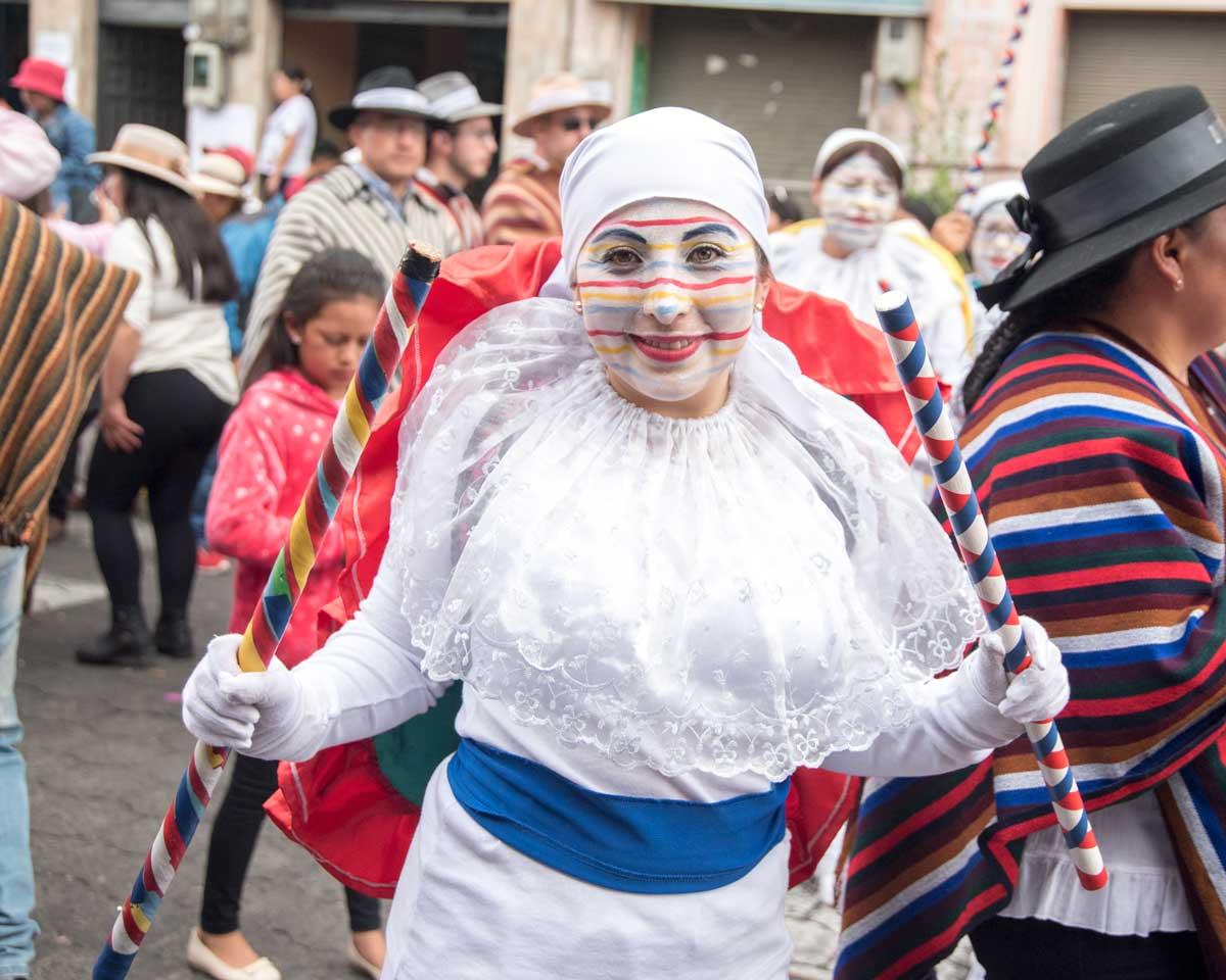 El Huaco, Mama Negra, Latacunga, Ecuador | ©Angela Drake