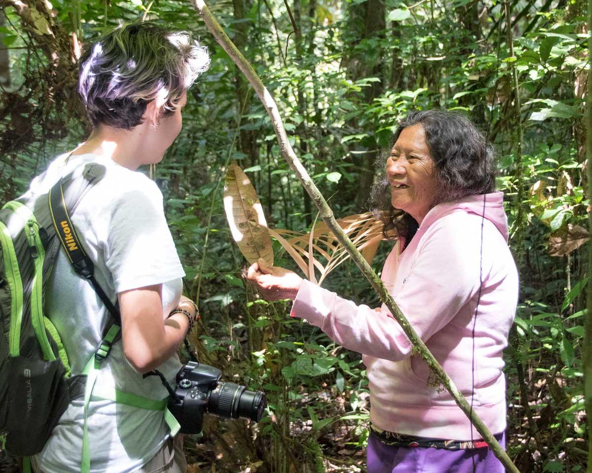 Mama Rora, Siona Guide in the Upper Cuyabeno, Ecuador | ©Angela Drake
