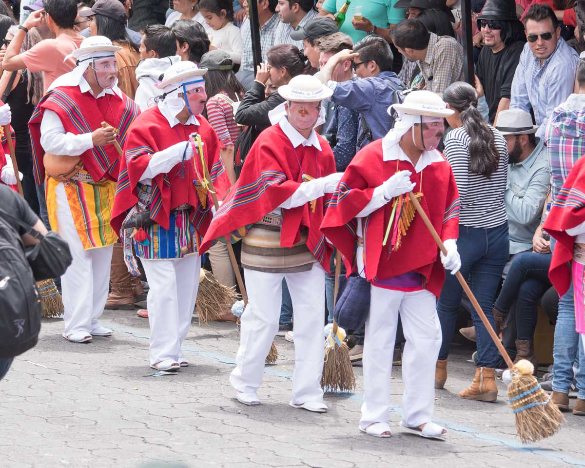 Los Caparichis, Mama Negra, Latacunga, Ecuador | ©Angela Drake
