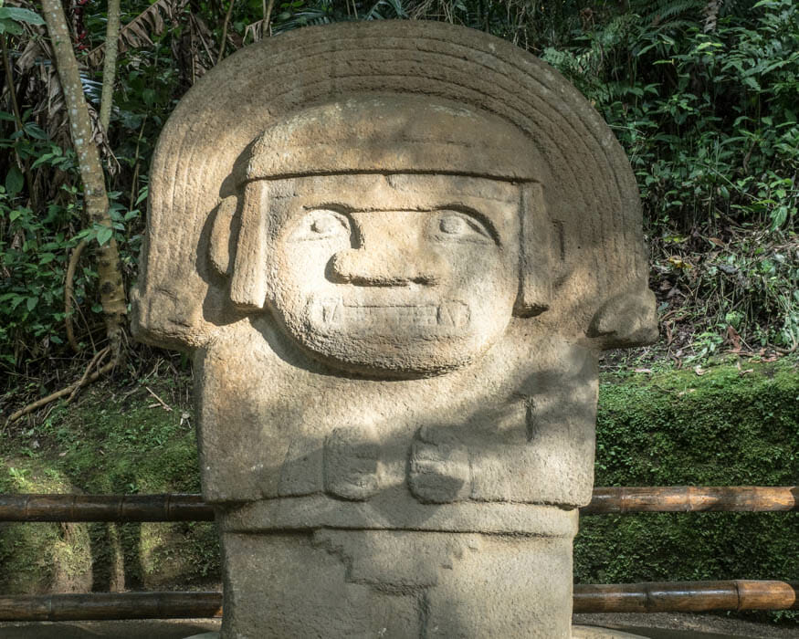 Forest of Statues, San Agustin, Colombia | ©Ernest Scott Drake