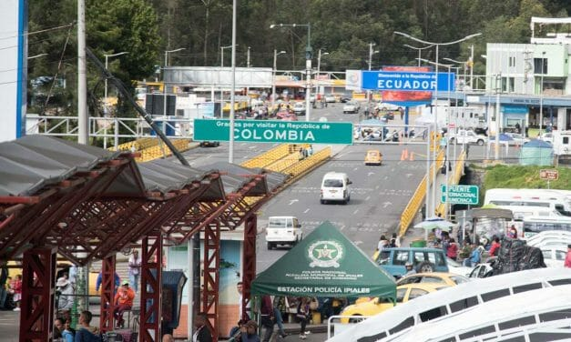 Border Crossing from Colombia into Ecuador