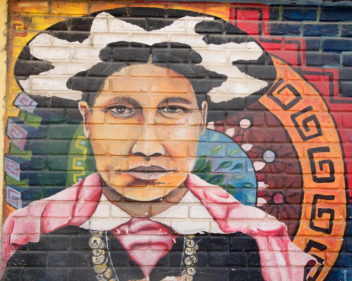 Saraguro Mural in Yantzaza, Ecuador | ©Angela Drake