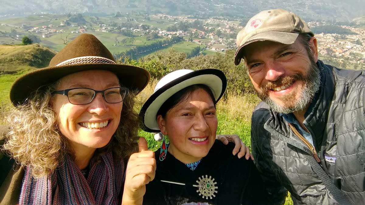 Touring Tambo with Tamia, Ecuador   ©Angela Drake
