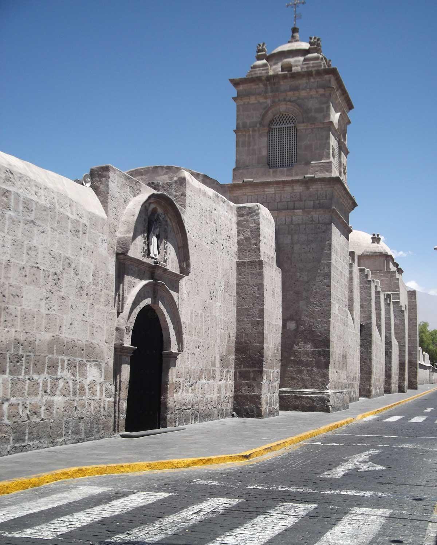 Wall surrounding the Santa Catalina Monastery, Arequipa, Peru | ©Eleanor Hughes