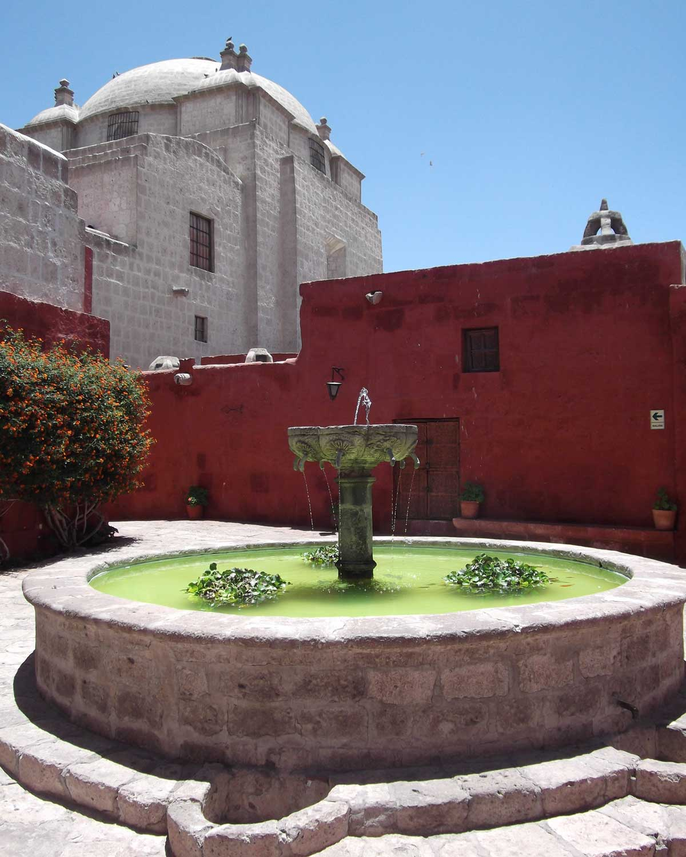 Inside the Santa Catalina Monastery, Arequipa, Peru | ©Eleanor Hughes
