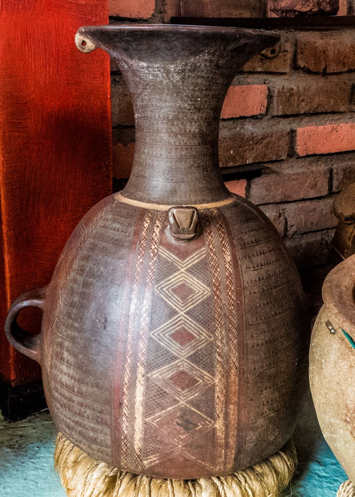 Great example of Incan pottery. I have to wonder what those markings may mean, if anything? |©Ernest Scott Drake