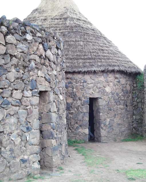 Restored Storage Bin, Raqchi, Peru | ©Eleanor Hughes
