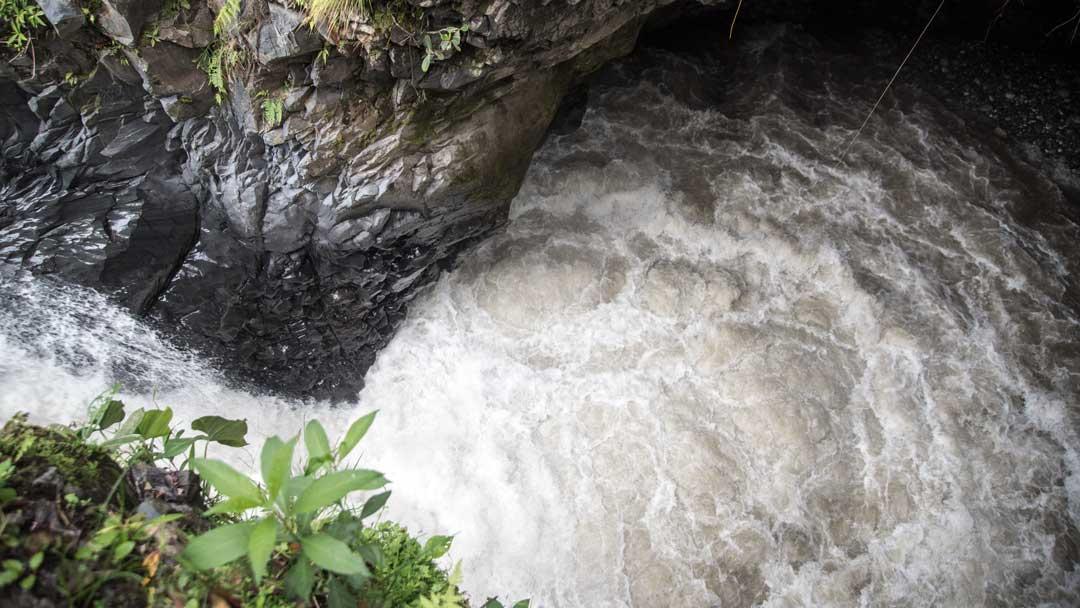 The first view point at the Isla del Pailon Trail, Rio Verde, Ecuador | ©Angela Drake